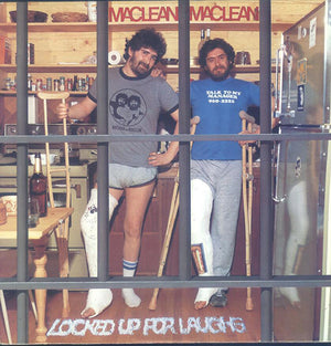 Maclean And Maclean - Locked Up For Laughs (LP, Album, Used) - Used Records - El Mocambo at Funky Moose Records