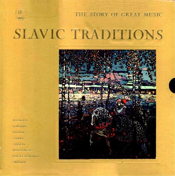 Various - Slavic Traditions (4xLP, Comp + Box, Used) - Used Records - Time Life Records at Funky Moose Records