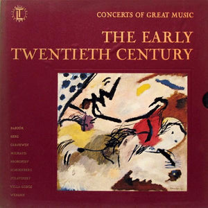 Various - Concerts Of Great Music: The Early Twentieth Century (5xLP, Comp + Box, Used) - Used Records - Time Life Records at Funky Moose Records