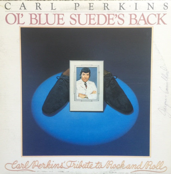 Carl Perkins - Ol' Blue Suede's Back (LP, Album, Used)