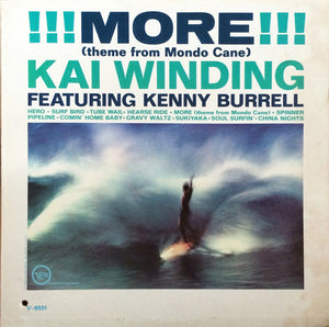Kai Winding - !!! More !!! (Theme From Mondo Cane) (LP, Album, Mono, Used)