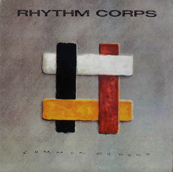 Rhythm Corps - Common Ground (LP, Album, Used) - Used Records - Pasha at Funky Moose Records