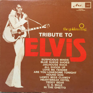 The Golden Ring - Tribute To Elvis (LP, Used) - Used Records - Arc Records (4) at Funky Moose Records