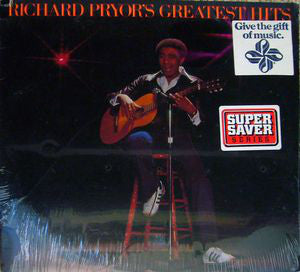 Richard Pryor - Richard Pryor's Greatest Hits (LP, Album, Comp, Used) - Used Records - Warner Bros. Records at Funky Moose Records