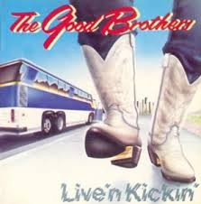 The Good Brothers - Live 'N Kickin' (LP, Used) - Used Records - Solid Gold Records (2) at Funky Moose Records