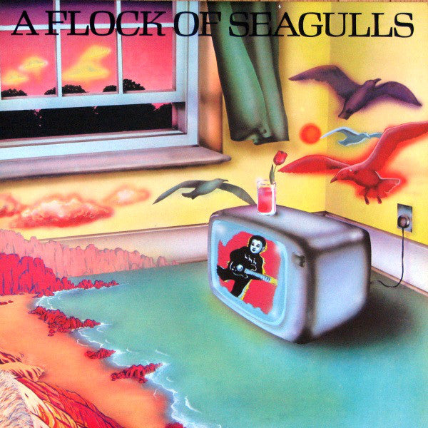 A Flock Of Seagulls - A Flock Of Seagulls (LP, Album, Used)
