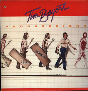 Tim Bogert - Progressions (LP, Album, Used) - Used Records - Attic at Funky Moose Records