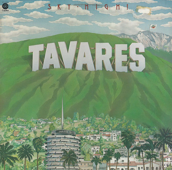 Tavares - Sky-High! (LP, Album, Emb, Used) - Used Records - Capitol Records, EMI at Funky Moose Records