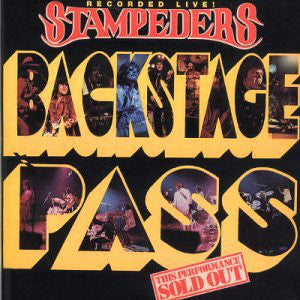 The Stampeders - Backstage Pass (LP, Used) - Used Records - Music World Creations at Funky Moose Records