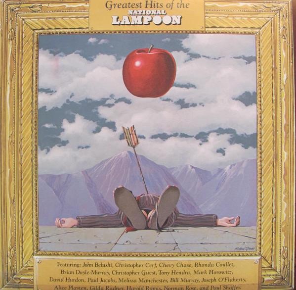 National Lampoon - Greatest Hits Of The National Lampoon (LP, Comp, Used) - Used Records - Visa Records at Funky Moose Records