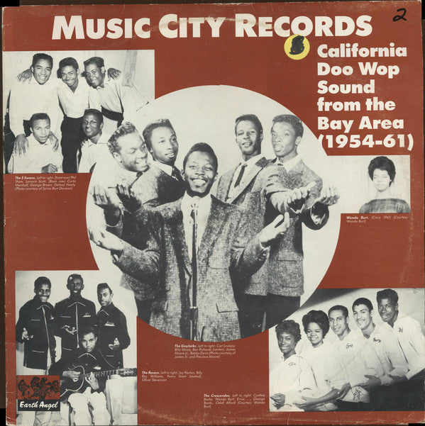 Various - Music City Records: California Doo Wop Sound From The Bay Area (1954-61) (LP, Comp, Mono, Used) - Used Records - Earth Angel at Funky Moose Records
