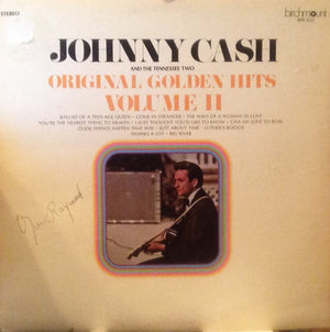 Johnny Cash & The Tennessee Two - Original Golden Hits Volume II (LP, Comp, Used)