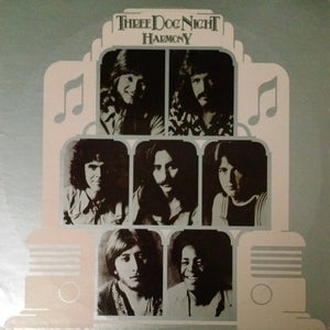 Three Dog Night - Harmony (LP, Album, San, Used) - Used Records - Dunhill at Funky Moose Records