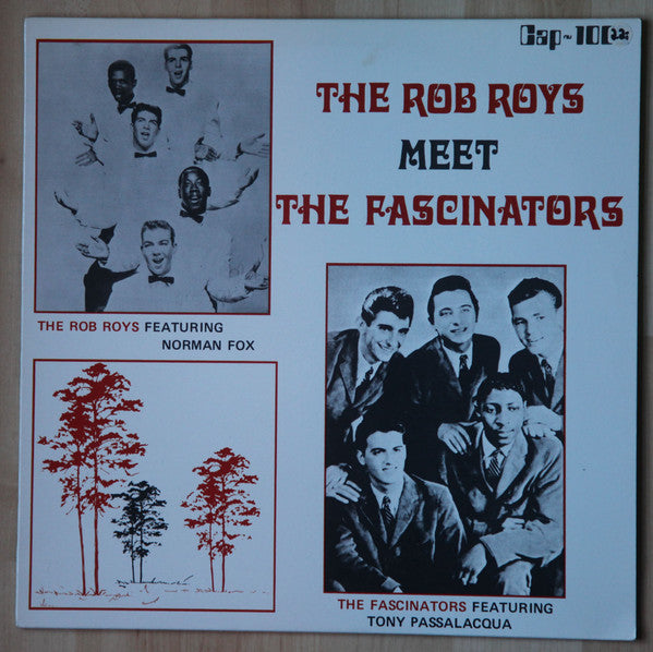 The Rob Roys - The Rob Roys Meet The Fascinators (LP, Comp, Used) - Used Records - Cap Records (3) at Funky Moose Records