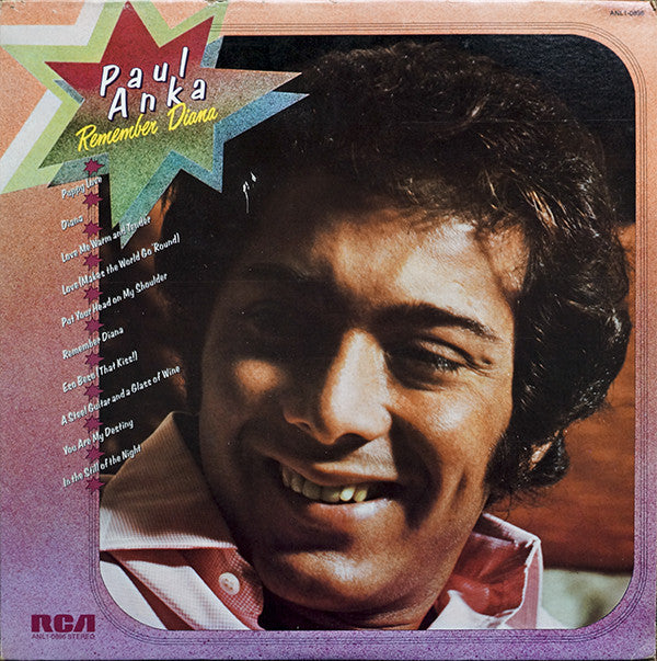 Paul Anka - Remember Diana (LP, Comp, Used)