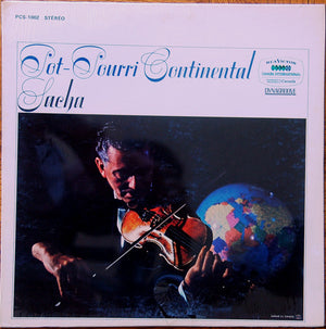Sacha - Pot-Pourri Continental (LP, Album, Used) - Used Records - RCA Victor at Funky Moose Records