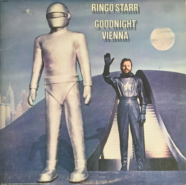 Ringo Starr - Goodnight Vienna (LP, Album, Used) - Used Records - Apple Records at Funky Moose Records