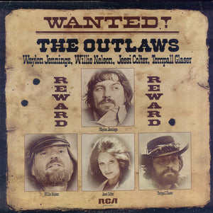 Waylon Jennings - Wanted! The Outlaws (LP, Album, Used) - Used Records - RCA Victor at Funky Moose Records