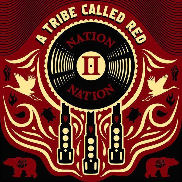 A Tribe Called Red - Nation II Nation (Red vinyl)Vinyl