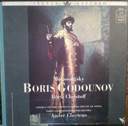 André Cluytens - Boris Godunov (4xLP, Used)Used Records
