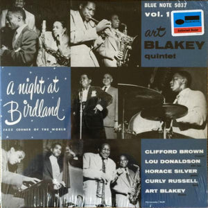 Art Blakey Quintet - A Night At Birdland, Volume 1 (Reissue)Vinyl