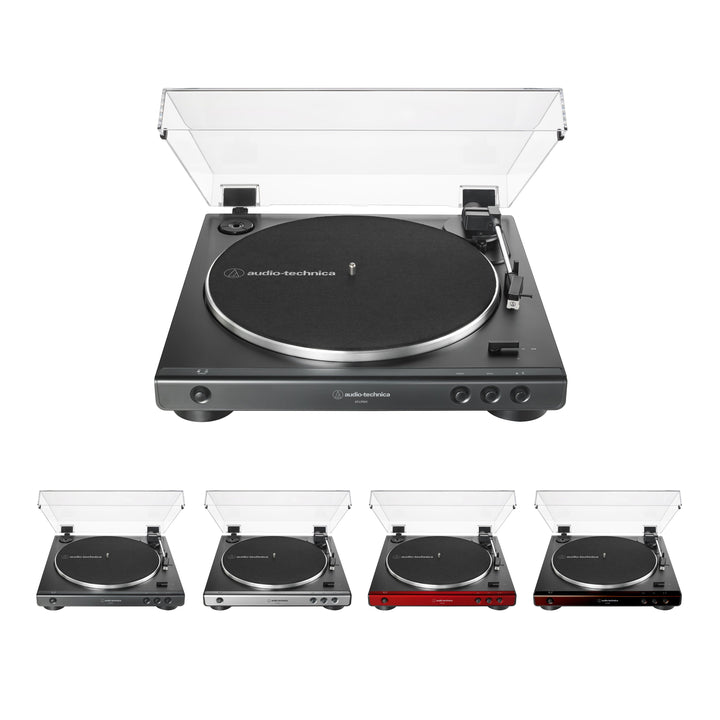Audio Technica AT-LP60X Fully Automatic Belt-Drive TurntableTurntable