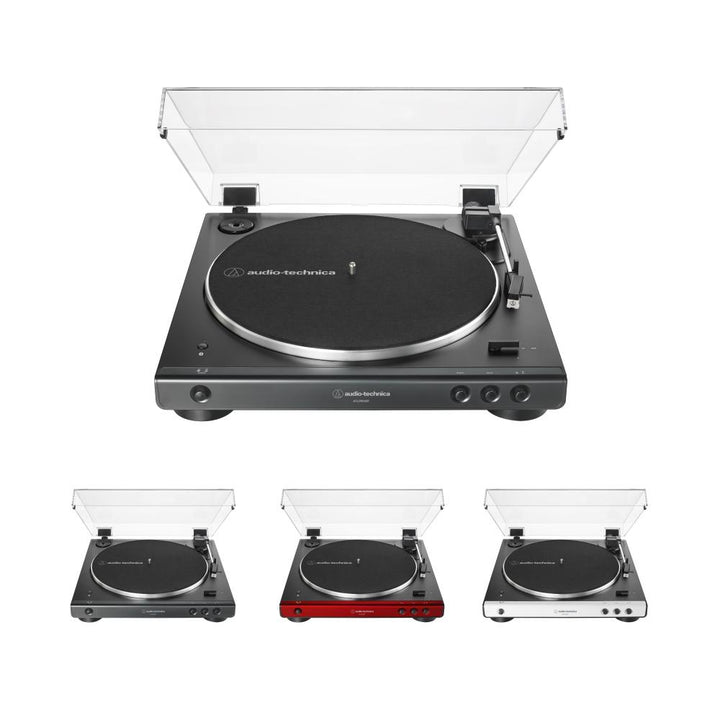Audio Technica AT-LP60XBT Fully Automatic Wireless Belt-Drive Turntable With BluetoothTurntable