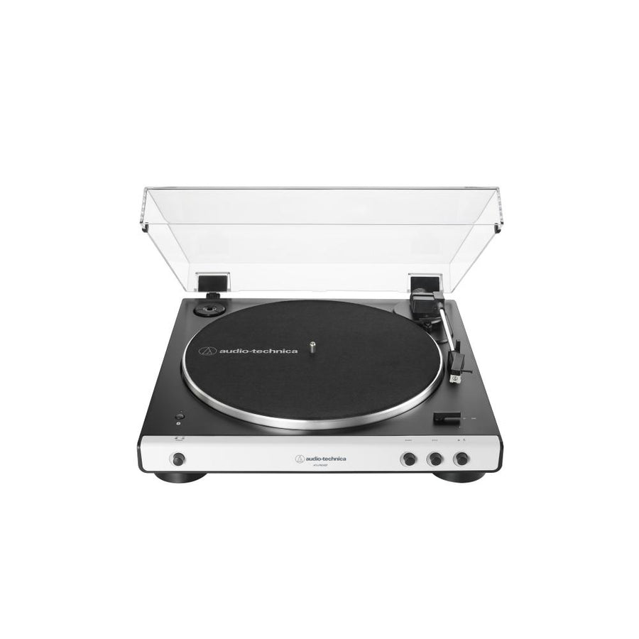Audio Technica AT-LP60XBT Fully Automatic Wireless Belt-Drive Turntable With BluetoothTurntableWhite