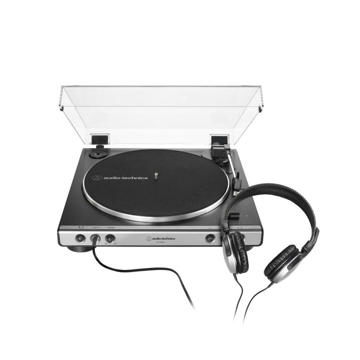 Audio Technica AT-LP60XHP Fully Automatic Belt-Drive Turntable with HeadphonesTurntable