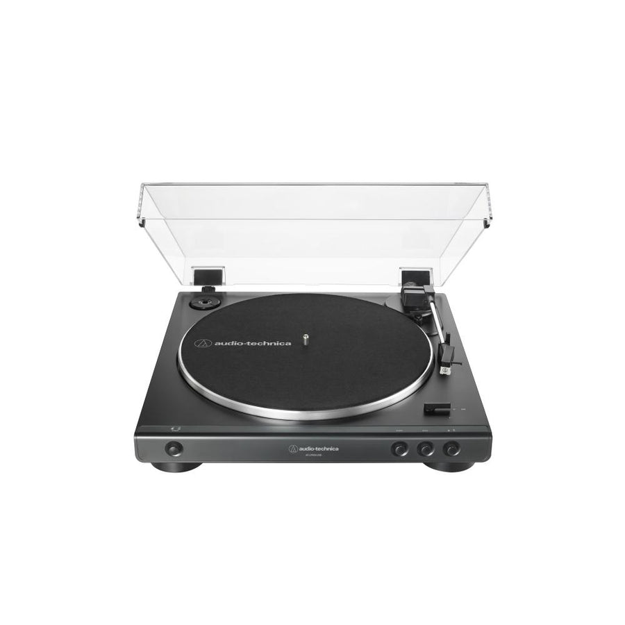 Audio Technica AT-LP60XUSB Fully Automatic Belt-Drive Turntable (USB & Analog)TurntableBlack