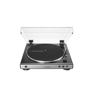 Audio Technica AT-LP60XUSB Fully Automatic Belt-Drive Turntable (USB & Analog)TurntableGunmetal