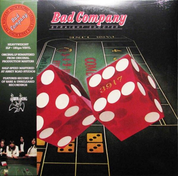 Bad Company - Straight Shooter (2LP, Reissue, Deluxe Edition, Remastered)Vinyl