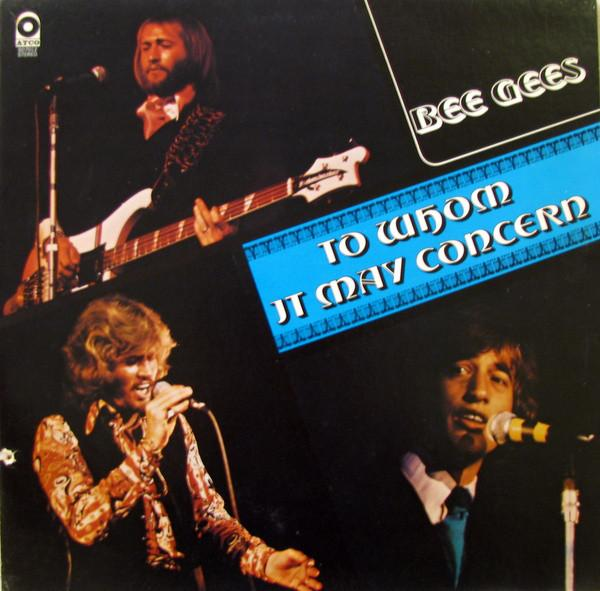 Bee Gees - To Whom It May Concern (LP, Album, Pop, Used)Used Records