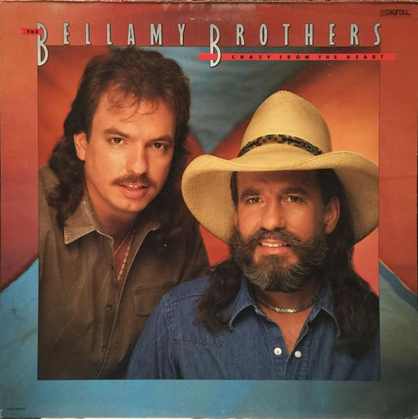Bellamy Brothers - Crazy From The Heart (LP, Album, Used)Used Records