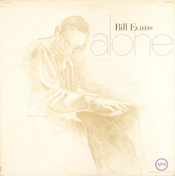 Bill Evans - Alone (LP, Album, Club, RE, Used)Used Records