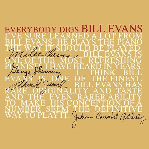 Bill Evans Trio* - Everybody Digs Bill Evans (Limited Edition, Reissue, Repress)Vinyl