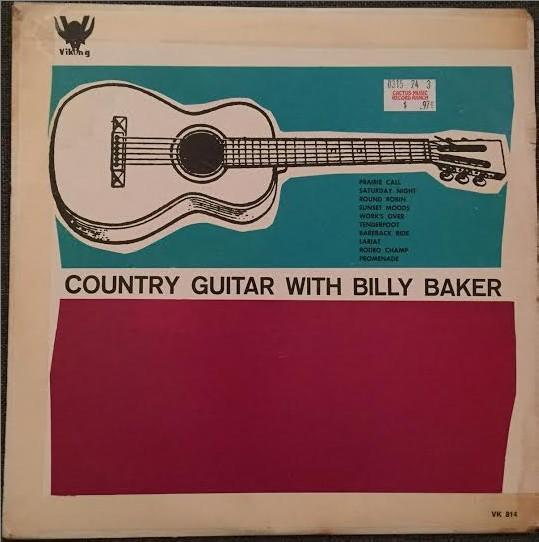 Billy Baker - Country Guitar With Billy Baker (LP, Album, Used)Used Records