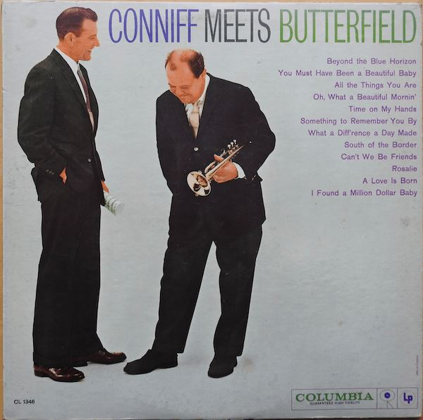 Billy Butterfield - Conniff Meets Butterfield (LP, Album, Mono, Used)Used Records