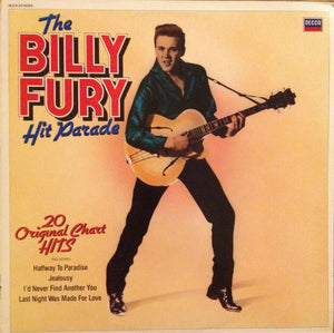Billy Fury - The Billy Fury Hit Parade (LP, Comp, Mono, Used)Used Records