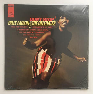 Billy Larkin And The Delegates - Don't Stop! (LP, Album, Used)Used Records