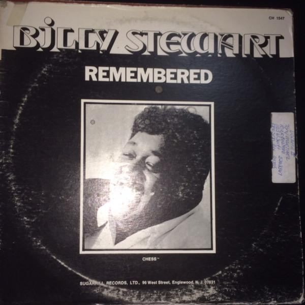 Billy Stewart - Remembered (LP, Comp, RE, Used)Used Records