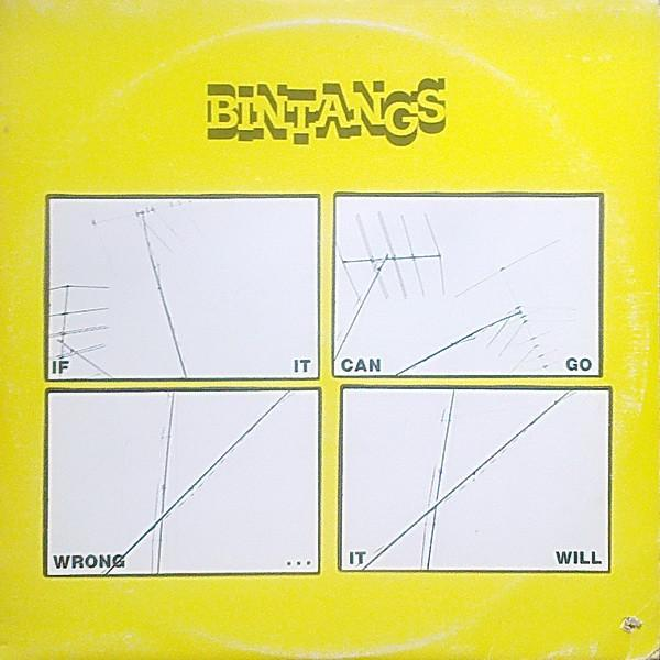 Bintangs - If It Can Go Wrong … It Will (LP, Album, Used)Used Records