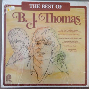 B.J. Thomas - The Best Of B.J. Thomas (LP, Comp, RM, Used)Used Records
