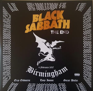 Black Sabbath - The End (4 February 2017 - Birmingham) (3LP)Vinyl