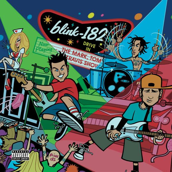 Blink-182 - The Mark, Tom And Travis Show (The Enema Strikes Back!) (2LP, Reissue)Vinyl