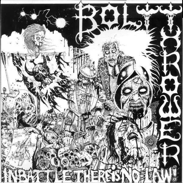 Bolt Thrower - In Battle There Is No Law! Vinyl Funky Moose Records