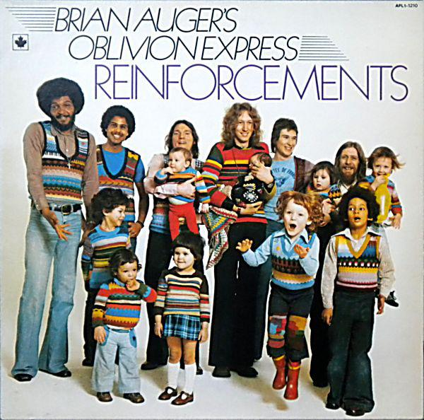 Brian Auger's Oblivion Express - Reinforcements (LP, Album, Gat, Used)Used Records
