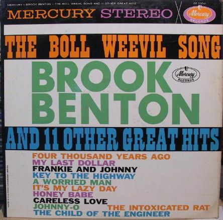 Brook Benton - The Boll Weevil Song And 11 Other Great Hits (LP, Album, Used)Used Records