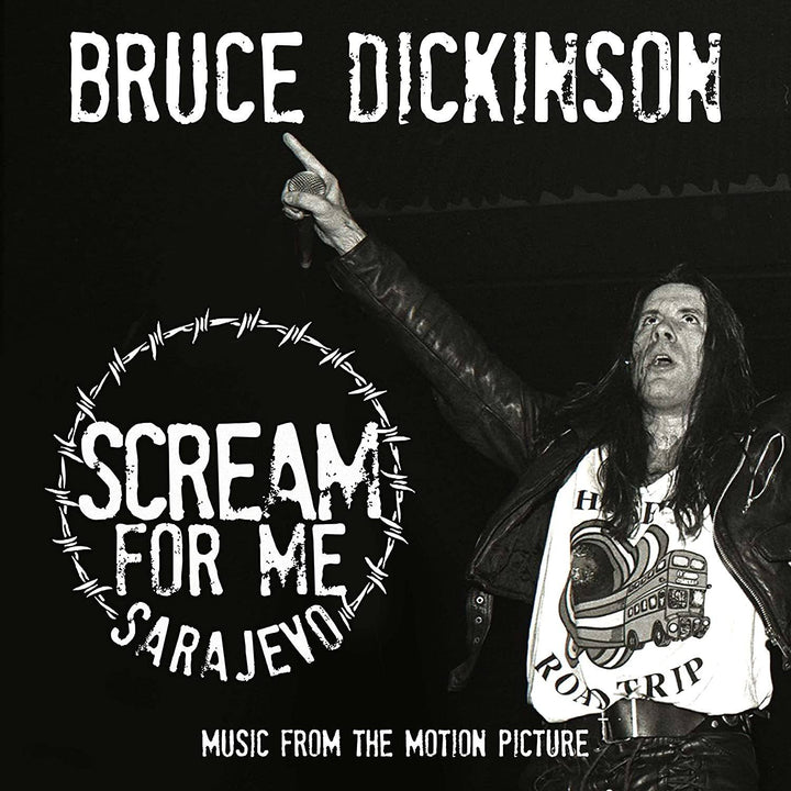 Bruce Dickinson - Scream For Me Sarajevo (2LP, Remastered)Vinyl