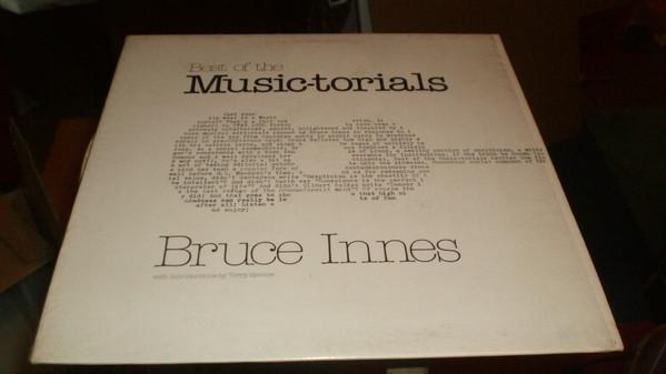 Bruce Innes - Best Of The Music-Torials (LP, Album, Used)Used Records